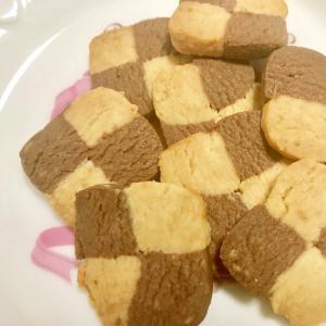 片栗粉いりでさくさく☆アイスボックスクッキー