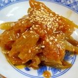 ご飯が旨い! 「フキの甘辛味噌炒め煮」