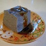 黒すりごま豆腐