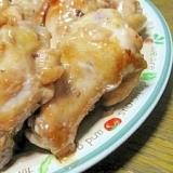 フライパンで☆鶏手羽元とポン酢の簡単照り焼きチキン