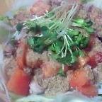 トマトで☆ゴマしゃぶサラダ