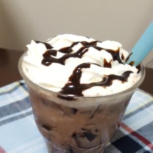 幸せ~☆コーヒーゼリーinアイスココア