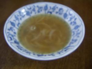 簡単オニオンコンソメスープ