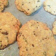 おからクッキー(キャラメルマキアート風味)
