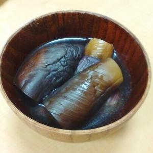 茄子のあっさり出汁煮