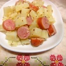 熱くてもサラダ☆ジャーマンポテトサラダ