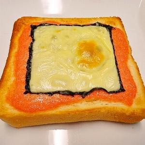 和風*明太のりチーズトースト