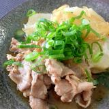 秋☆長芋と豚肉の甘辛煮☆すぐ出来る時短煮物