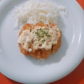 手作りソース♡味噌マヨとんかつ♪