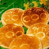 モチっとさっぱり☆バナナヨーグルトパンケーキ