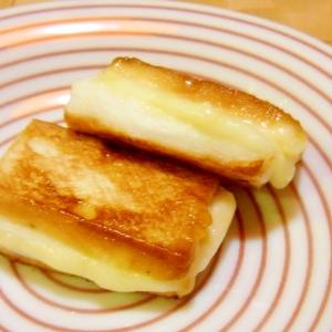 お弁当に★チーズはんぺんの醤油焼き