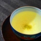 和のホットノンアルコールカクテル、梅香る緑茶