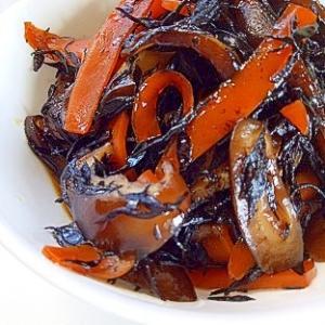 たっぷり椎茸のひじき煮