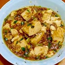市販のタレいらず!八丁味噌で作る麻婆豆腐