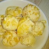 材料3つ☆トースターで甘夏豆腐のまん丸焼きドーナツ