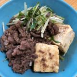 コストコのプルコギビーフなら☆10分で肉豆腐