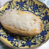 節約☆ブロッコリーの芯の稲荷寿司(*^^*)☆