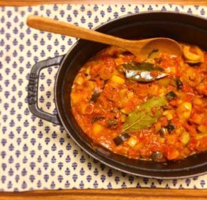 ズッキーニ、なす、パプリカ 夏野菜のラタトゥイユ