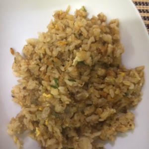 ひき肉炒飯(^^)