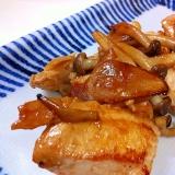 鶏むね肉の生姜焼き ポリ袋活用