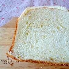 HBで生クリーム食パン