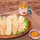鶏ささみ肉の豆腐干糸クリスピー