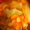 ごはんと食べたい!小松菜と厚揚げのごま味噌炒め