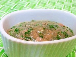 【離乳食】ツナ&大根のとろみ煮