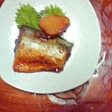 サバと生姜の煮物