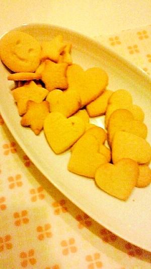 ☆ホットケーキミックスで簡単☆型抜きクッキー☆