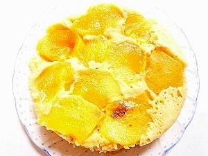 柿の蒸しケーキ