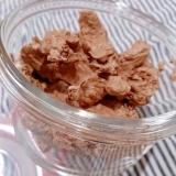 純ココアでチョコレートホイップクリーム