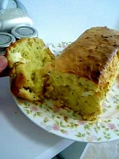 クリームチーズとキウィのふんわりケーキ