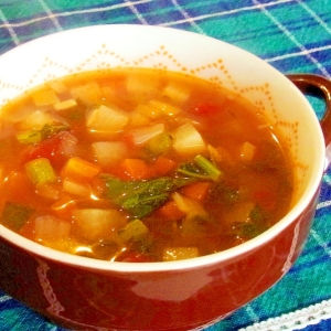 大根をたくさん食べるスープ