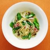 〔ひかり味噌公式〕野菜とベーコンの塩糀パスタ