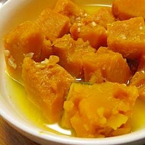 塩麹で★かぼちゃの煮物