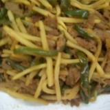 大豆のお肉で作ったチンジャオロースー