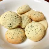 紅茶のアイスボックスクッキー~バター少な目