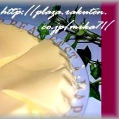 レンジで簡単!クリームチーズババロア