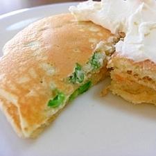 グリーンピースパンケーキ