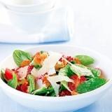 ホウレン草のフレンチヨーグルトサラダ