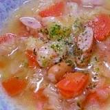 活力鍋で野菜とろとろスープ   ♪♪