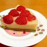 焼かないフルーツケーキ(≧▽≦)娘の誕生日用