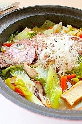 乾杯鍋☆日本酒と塩麹でほっこり鍋