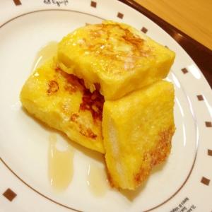 ふわふわフレンチトースト☆アーモンド風味
