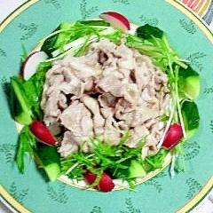 豚ロースと野菜の冷しゃぶ
