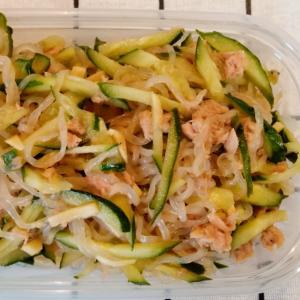 【作り置き】レンチンで白滝とツナの中華サラダ