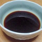 昆布と椎茸の出汁醤油