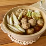 鶏団子鍋 / Chicken ball Pot