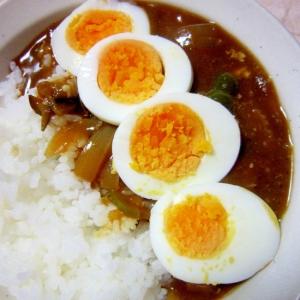 茹で卵カレー